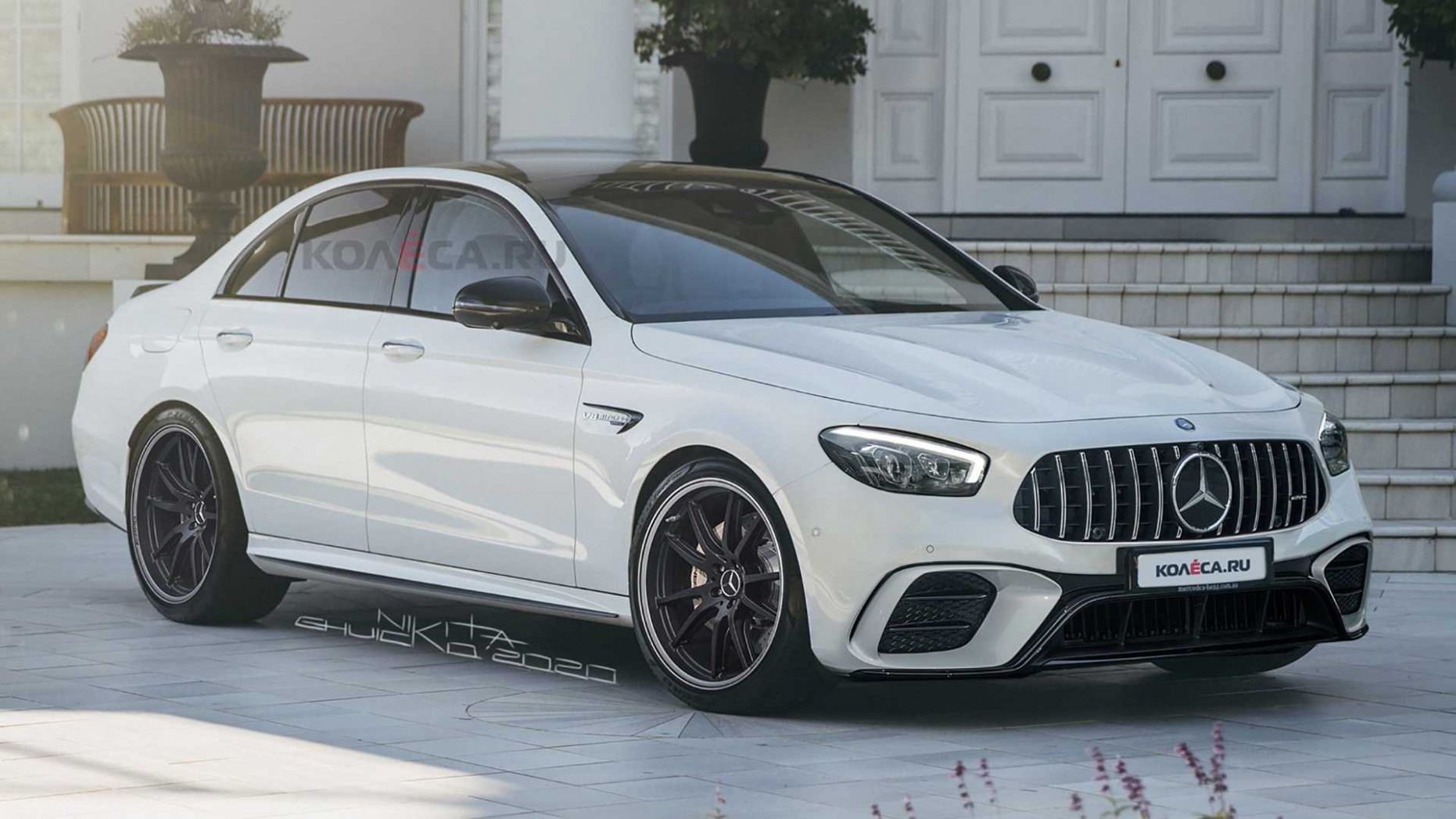 10 Mercedes-AMG E10 Leaked Images Lead To Realistic Rendering | 2020 Mercedes Benz E63 Amg