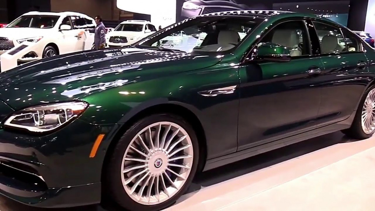 11 BMW Alpina B11 Gran Coupe Marketed from 11 Edition Design Special  First Impression Lookaround | 2020 BMW Alpina B6