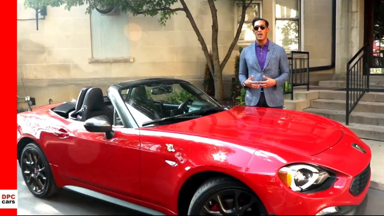 12 Fiat 12 Spider Abarth Explained By Brand Manager Ryan Bates