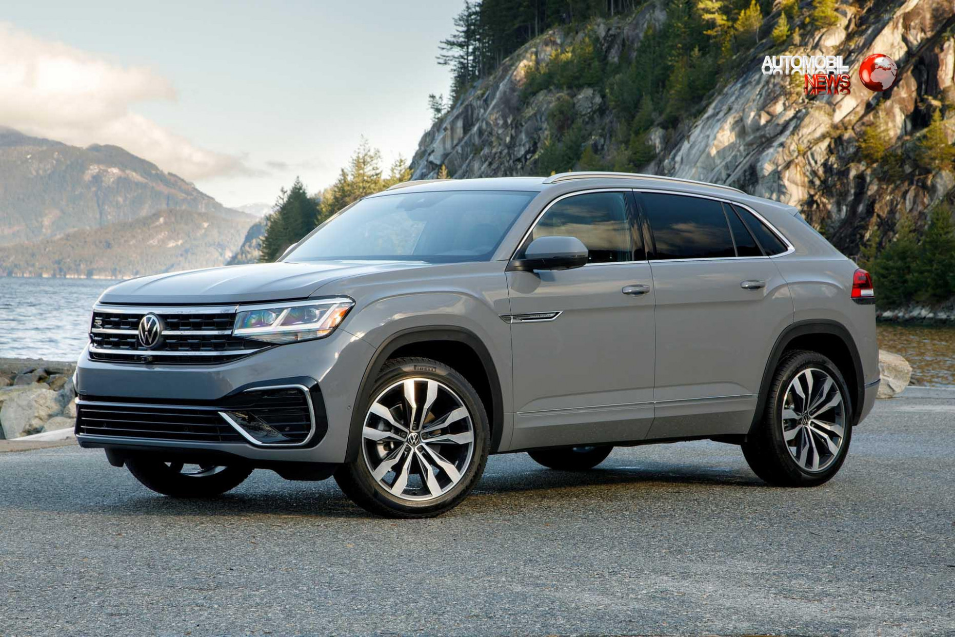 6 VW Atlas Cross Sport crossover hits the center in a giant ..