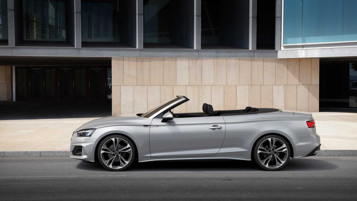 2020 Audi A5 Convertible  Review