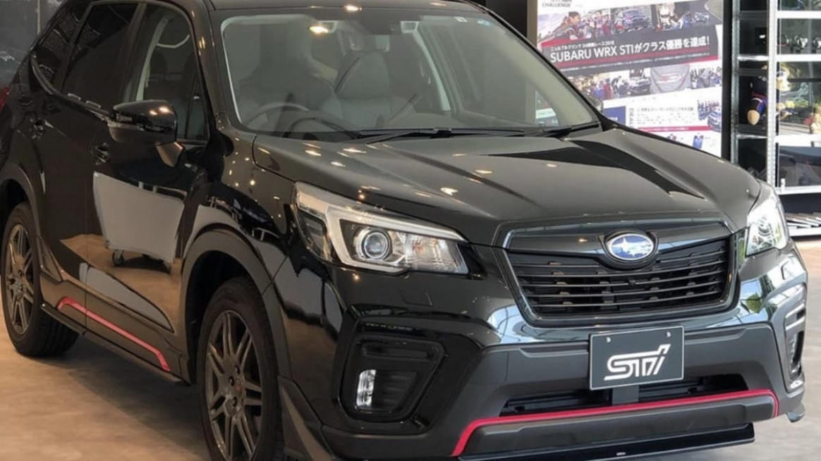 Here Is A New Subaru Forester STI You Want But Can't Get | Torque News