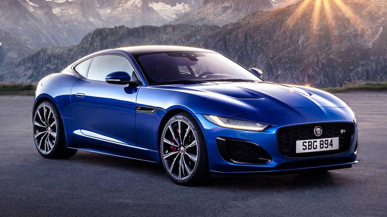 Jaguar F-Type (8): Facelift schärft den Sportwagen | 2020 Jaguar F Type Manual