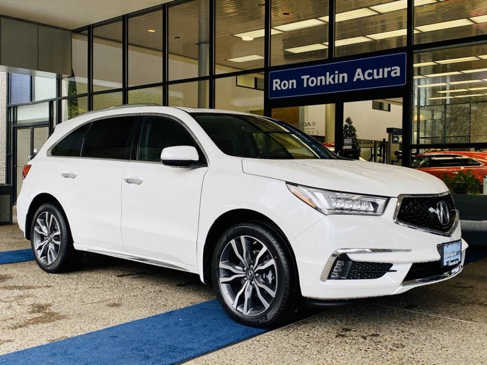 New 8 Acura MDX SH-AWD with Advance and Entertainment Packages | 2020 Acura Mdx Technology Package