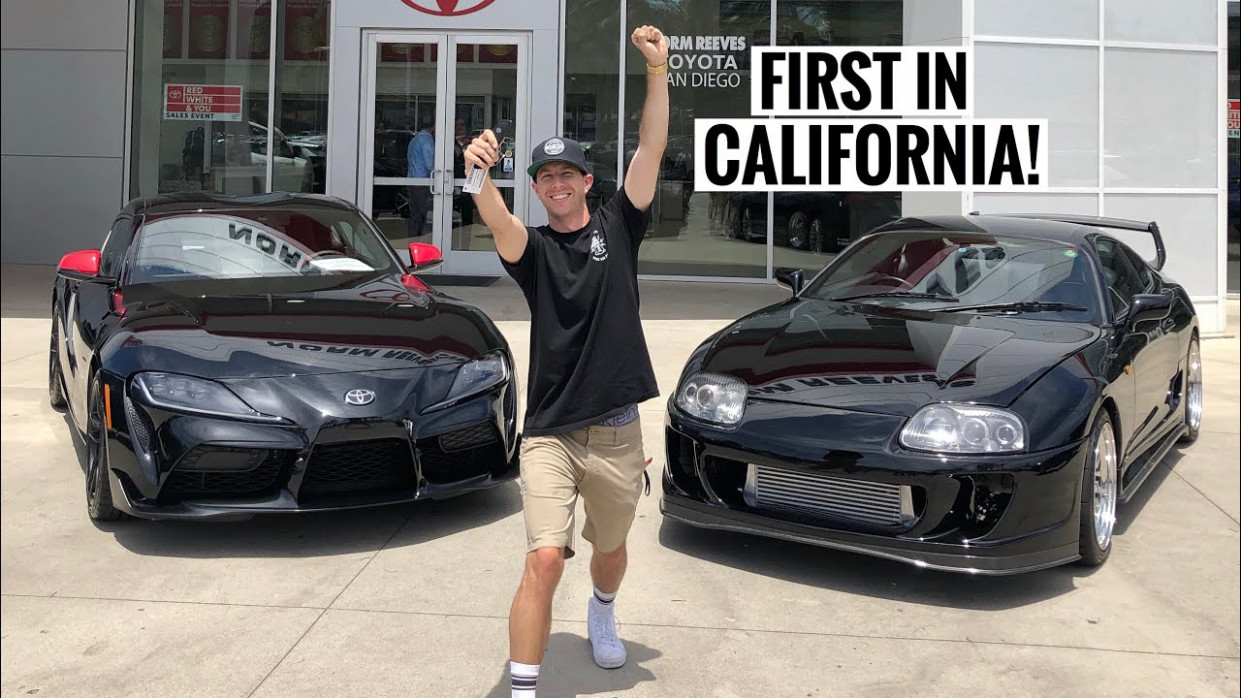 TAKING DELIVERY OF MY 8 TOYOTA SUPRA! | 2020 Toyota Delivery