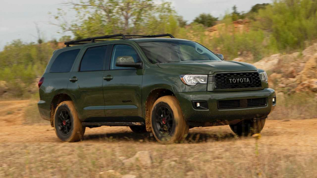 11 Toyota Sequoia TRD Pro First Drive: Adventure, Party Of Seven | 2020 Toyota Sequoias