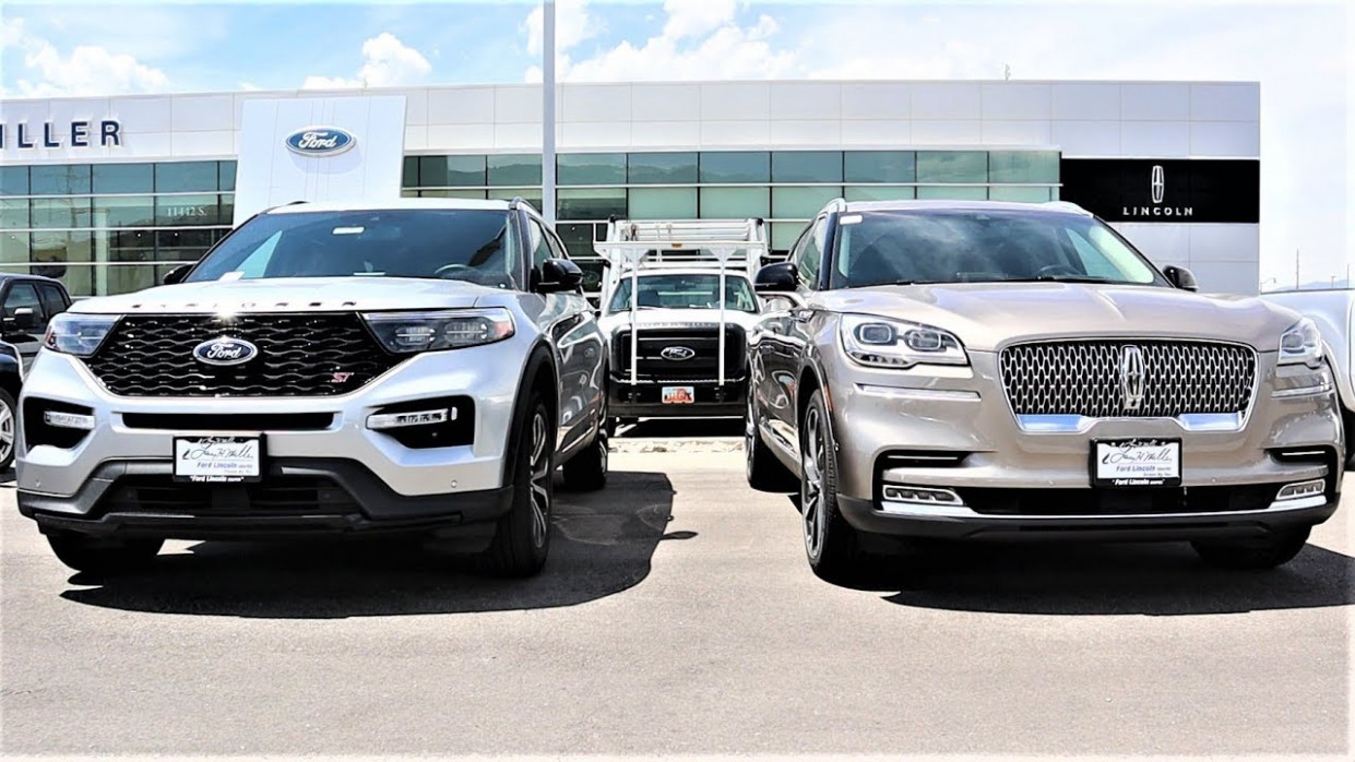 8 Lincoln Aviator Vs 8 Ford Explorer: Are they the Same SUV??? | 2020 Lincoln Ford