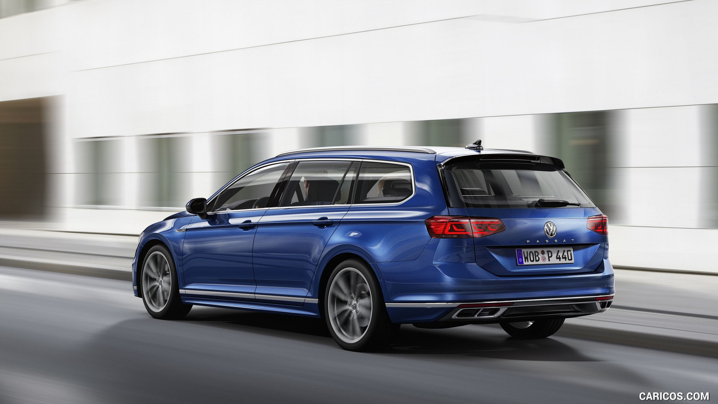 8 Volkswagen Passat Variant (EU-Spec) - Rear Three-Quarter HD ...