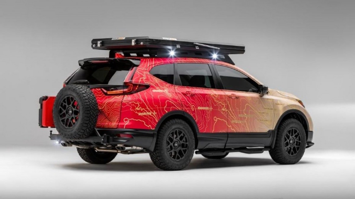 Honda Wants You To Dream And Do With Two New CR-V Adventure Builds ..