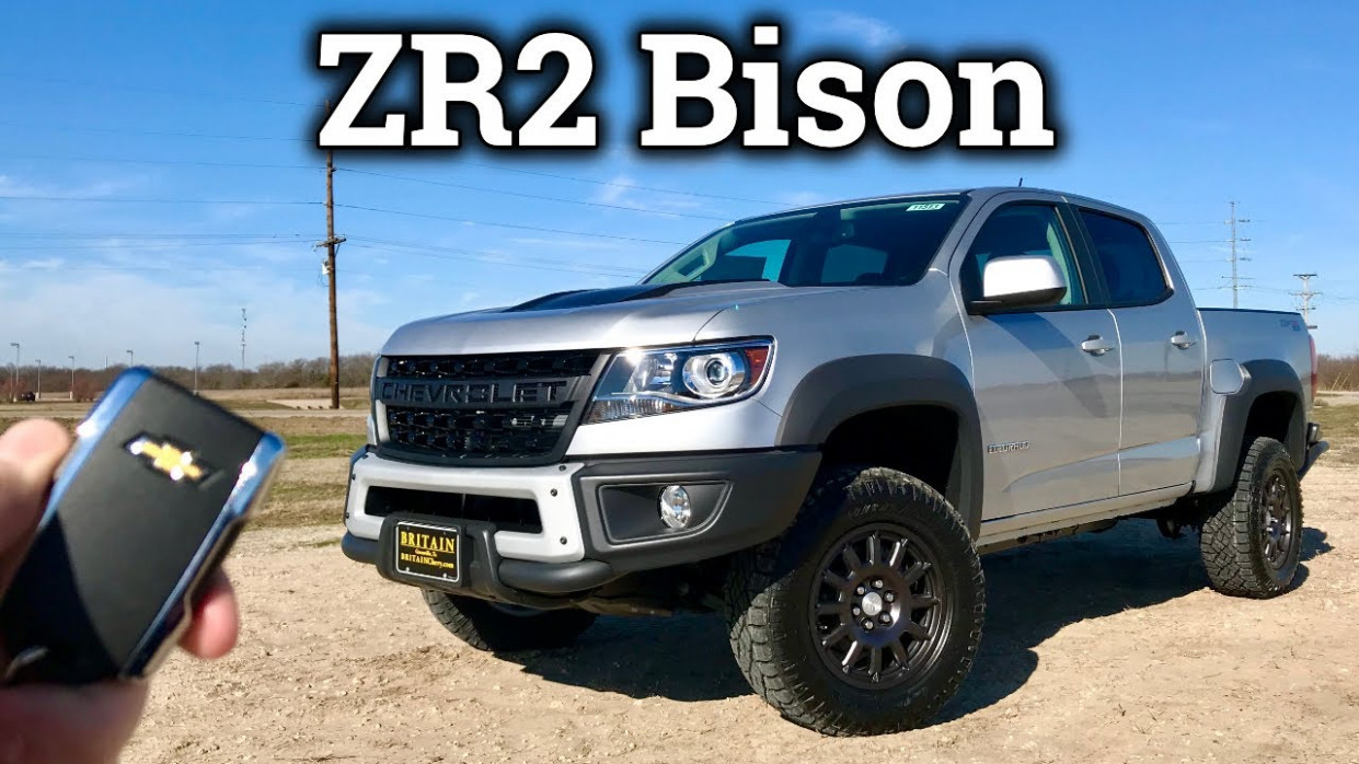 Is the 112 Chevy Colorado ZR12 Bison the Baddest Midsize Truck?! | 2020 Chevrolet Zr2