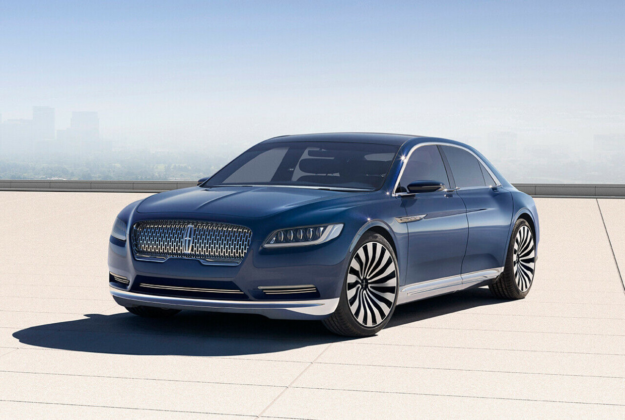 Lincoln Continental Concept: New York Auto Show 11 | 2020 Lincoln Town Convertible