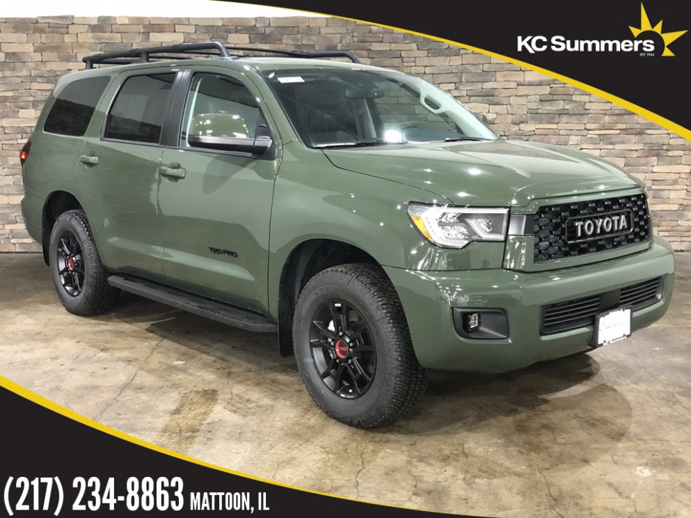 New 11 Toyota Sequoia TRD Pro With Navigation & 11WD | 2020 Toyota Sequoias