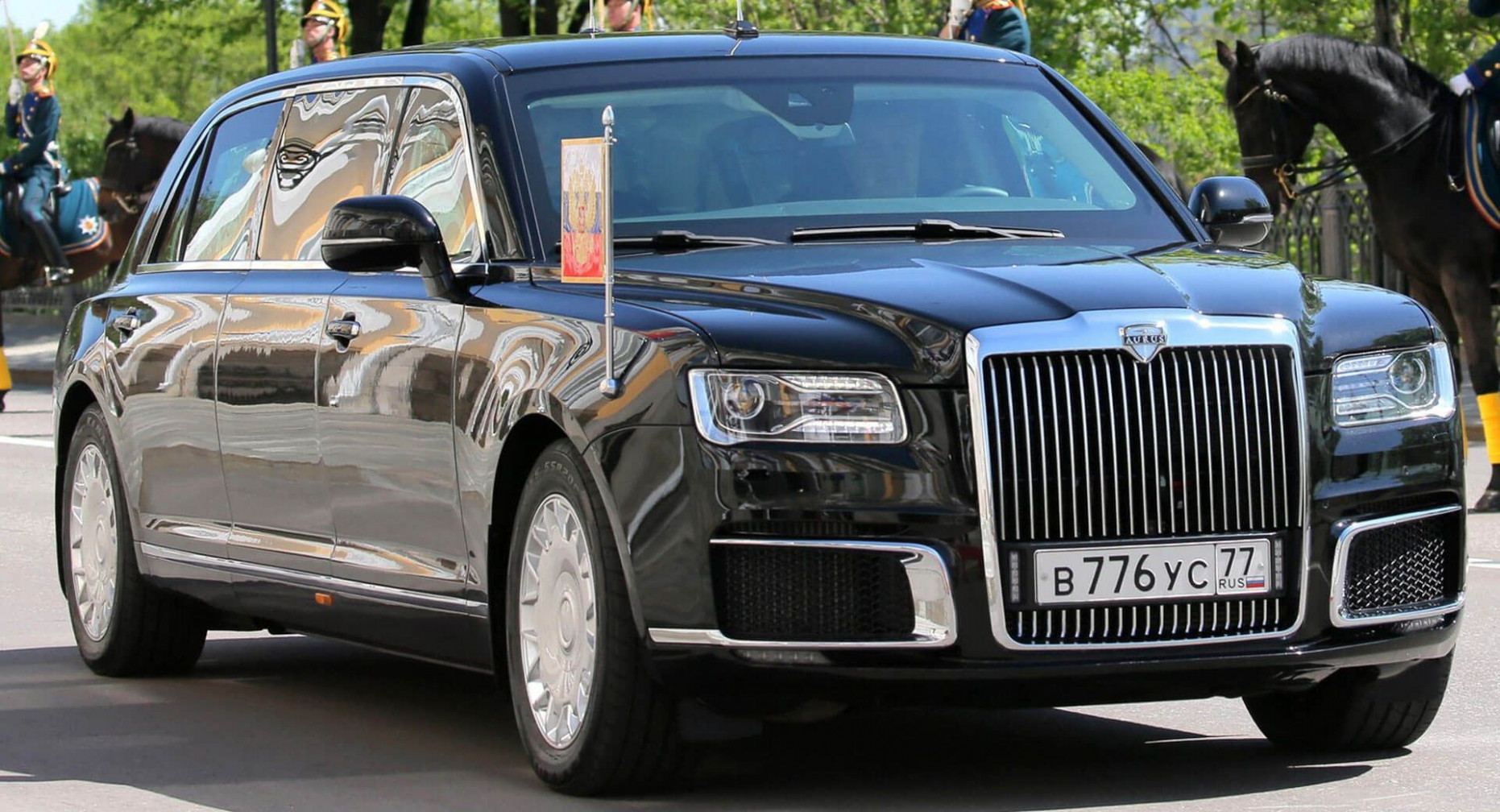 Putin's New Limo Unveiled At His Inauguration Ceremony | Wladimir ...