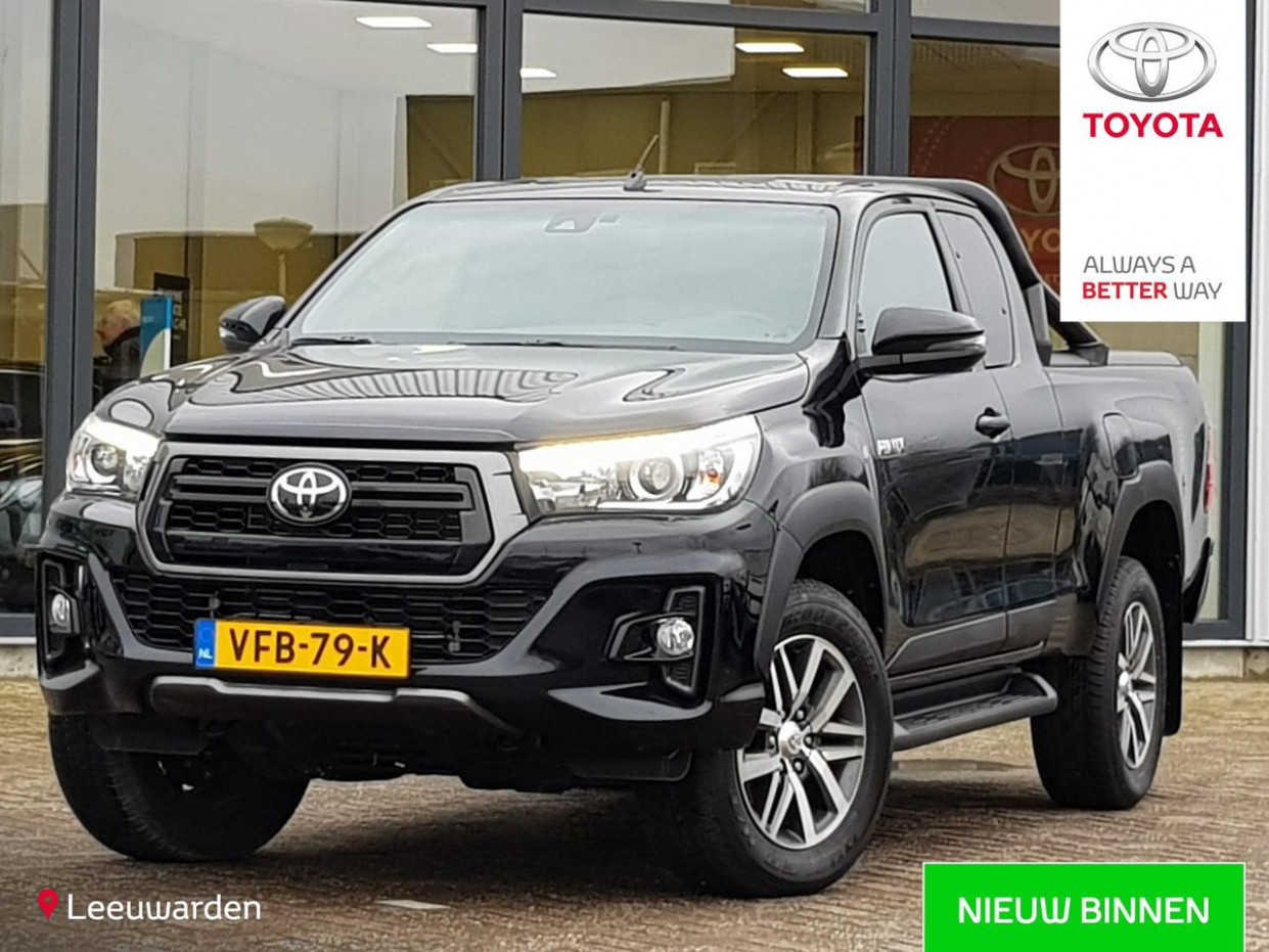 Used TOYOTA HILUX : year 11   2020 Toyota Extra Cab