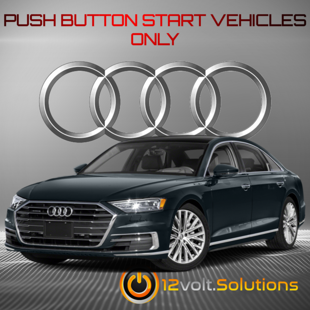 4-4 Audi A4 Plug and Play Remote Start Kit | 4Volt