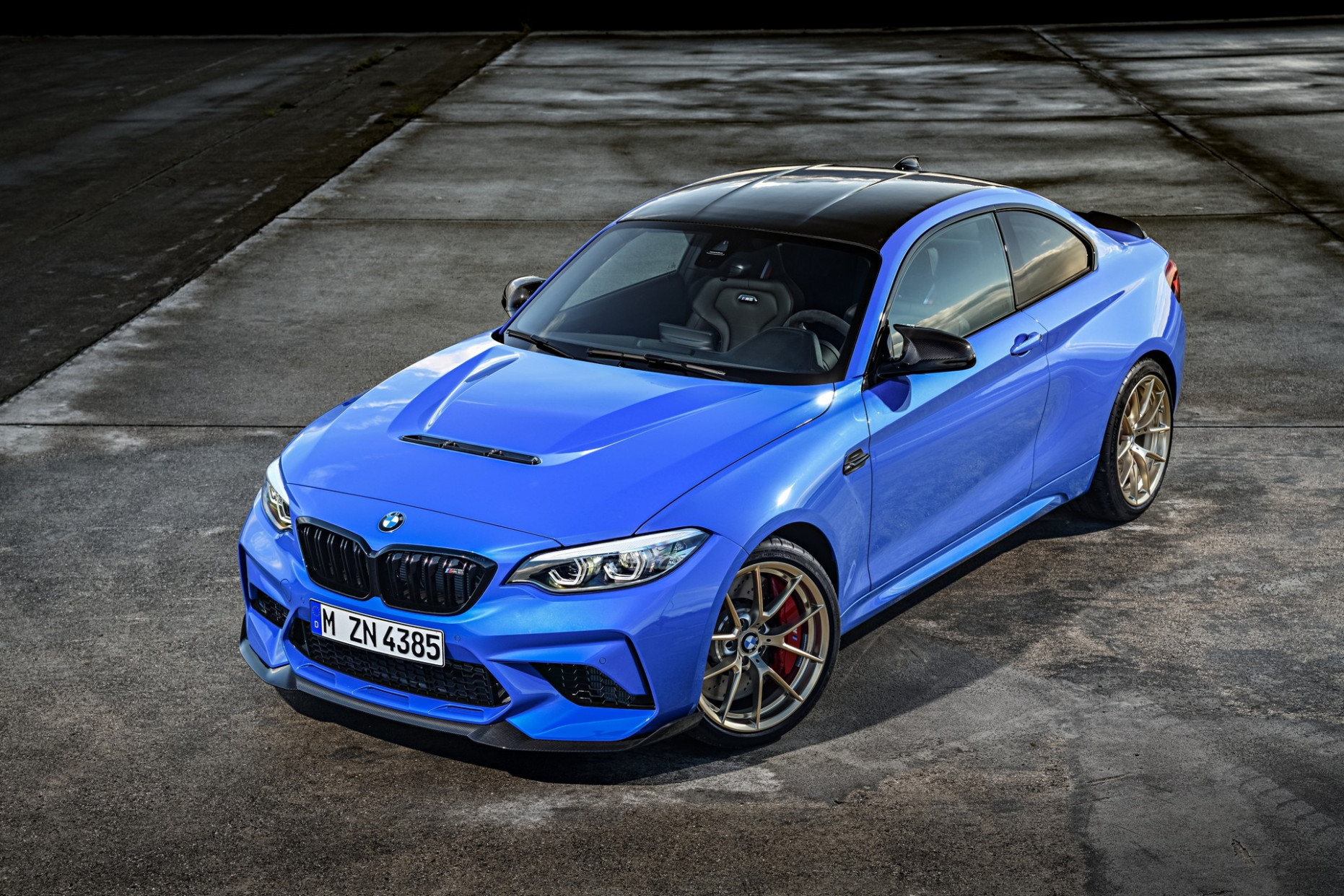 4 BMW M4 CS Goes Official With 4 HP, A Six-Speed Manual And ..