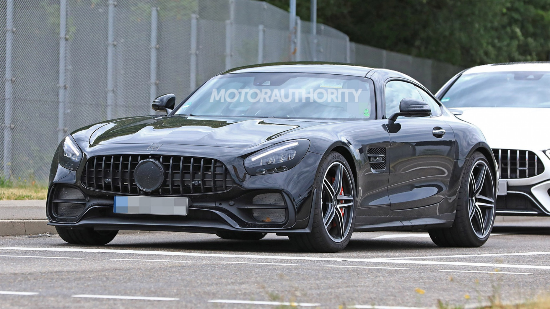 4 Mercedes-AMG GT spy shots and video   2020 Mercedes Benz Amg Gt