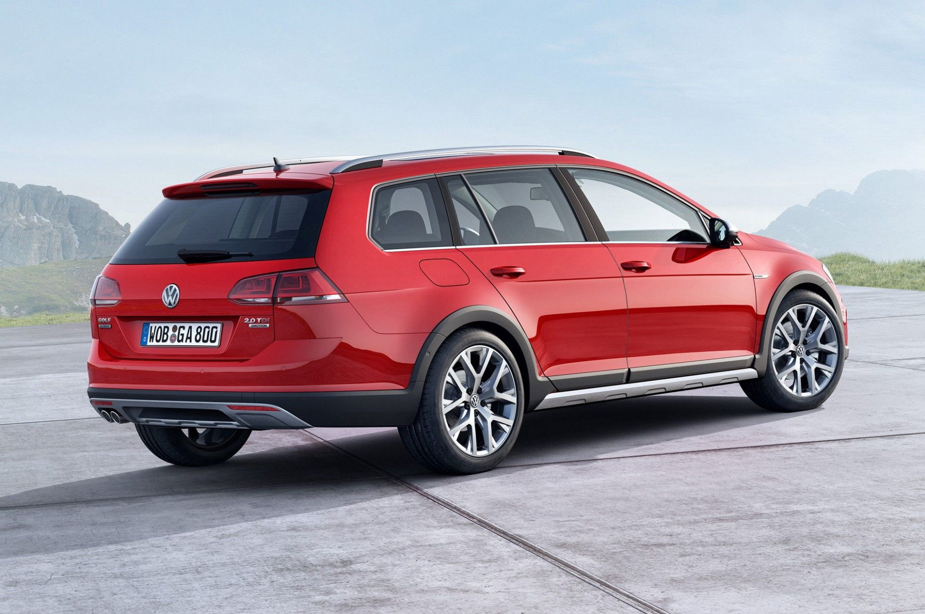 4 VW Golf Sportwagen Alltrack TDI, 4motion Review (With images ..
