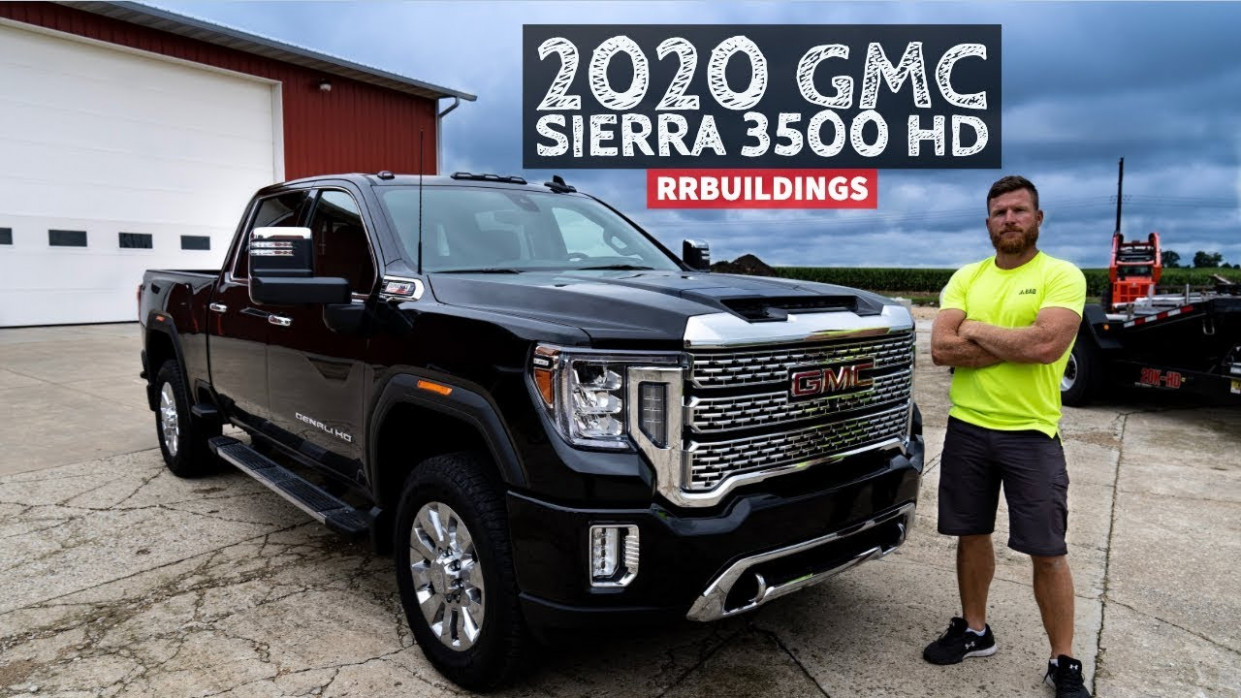 5 GMC Sierra 5 Denali Walk Around with RR Buildings | 2020 GMC Sierra 3500Hd