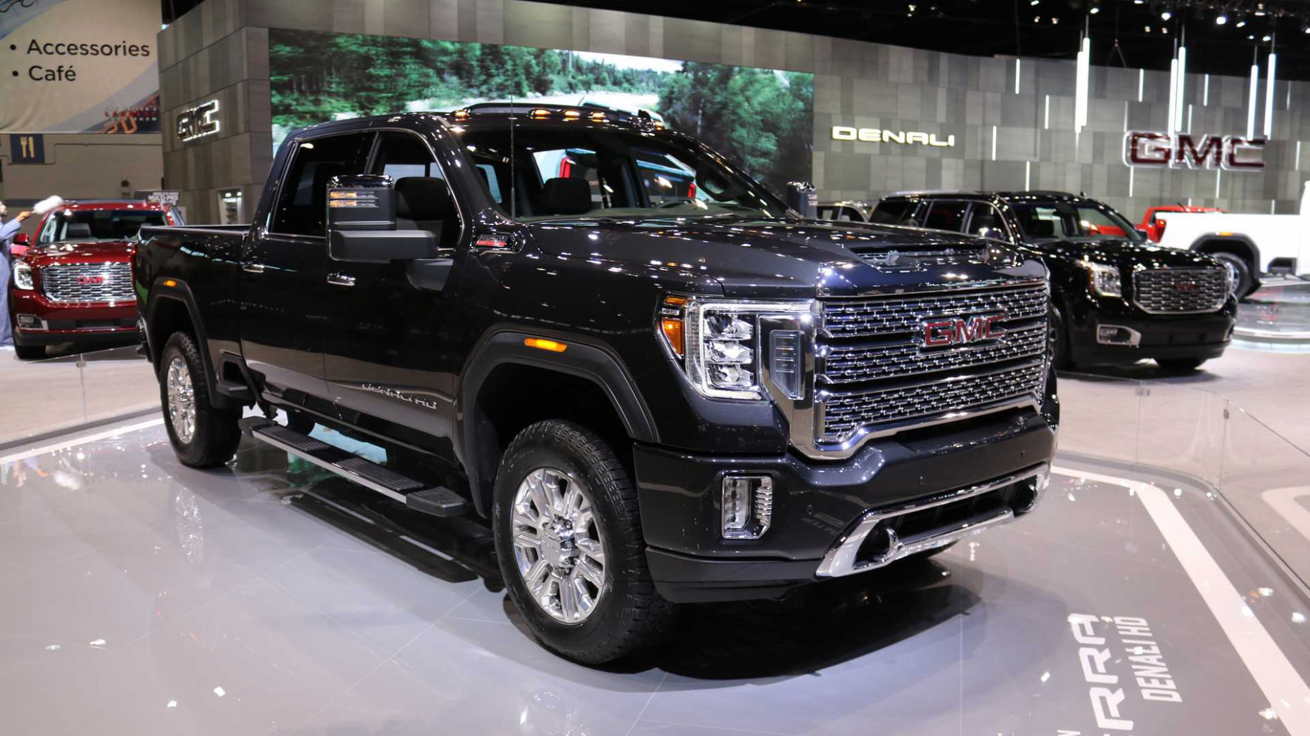 5 GMC Sierra HD Arrives With More Tech And New Off-Road Trim | 2020 GMC Hd Pickup