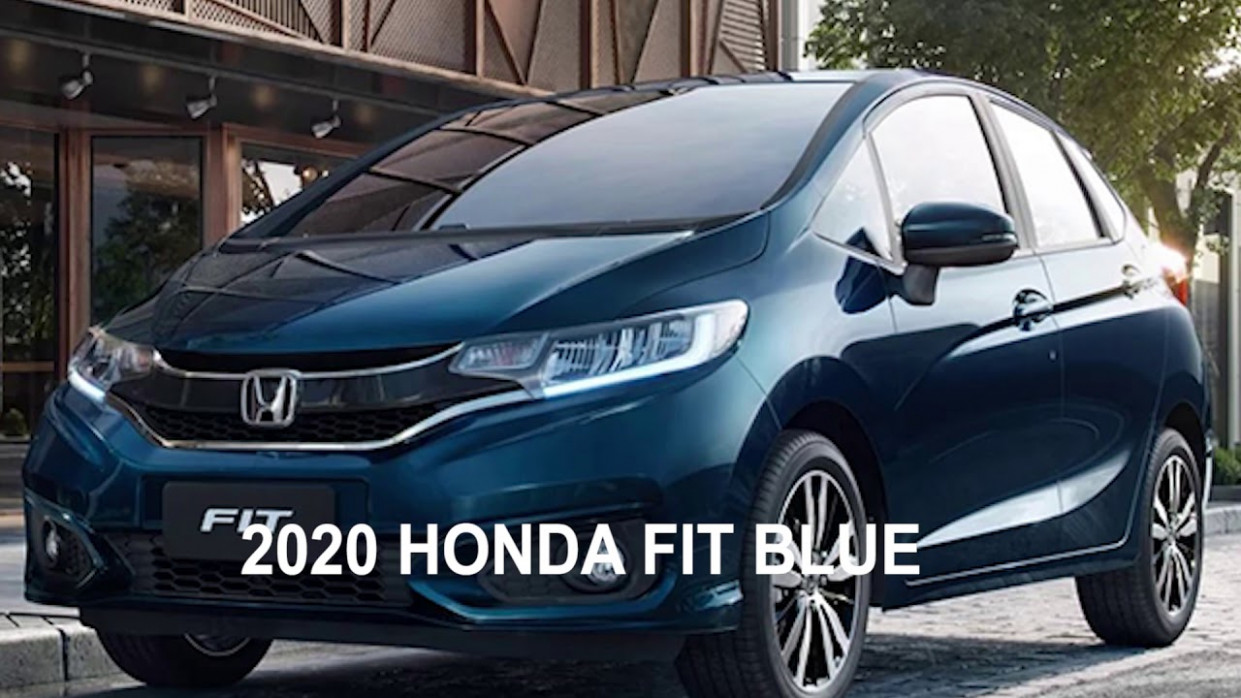 5 HONDA FIT BLUE COLORS, PRICE AND RELEASE DATE   2020 Honda Fit Colors