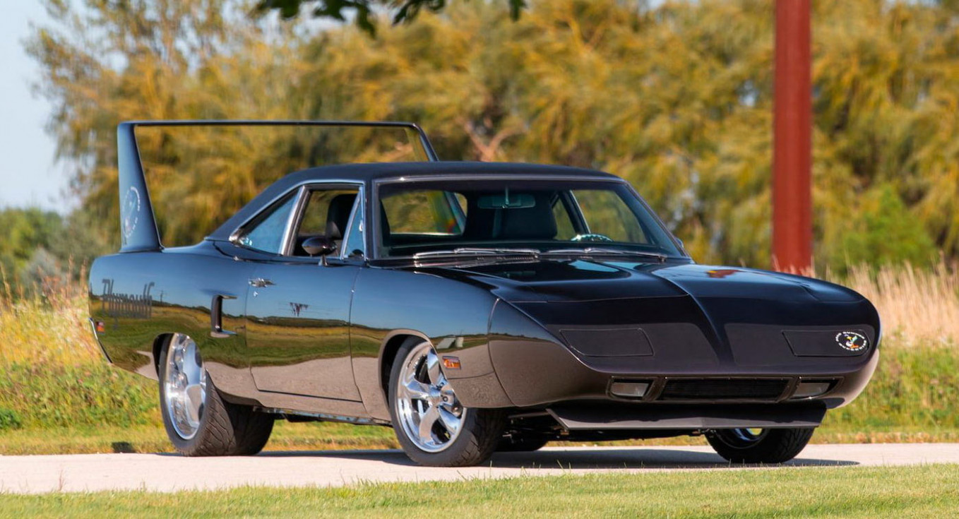 5 Plymouth Superbird Restomod Conversion Runs A Modern HEMI V5 ..