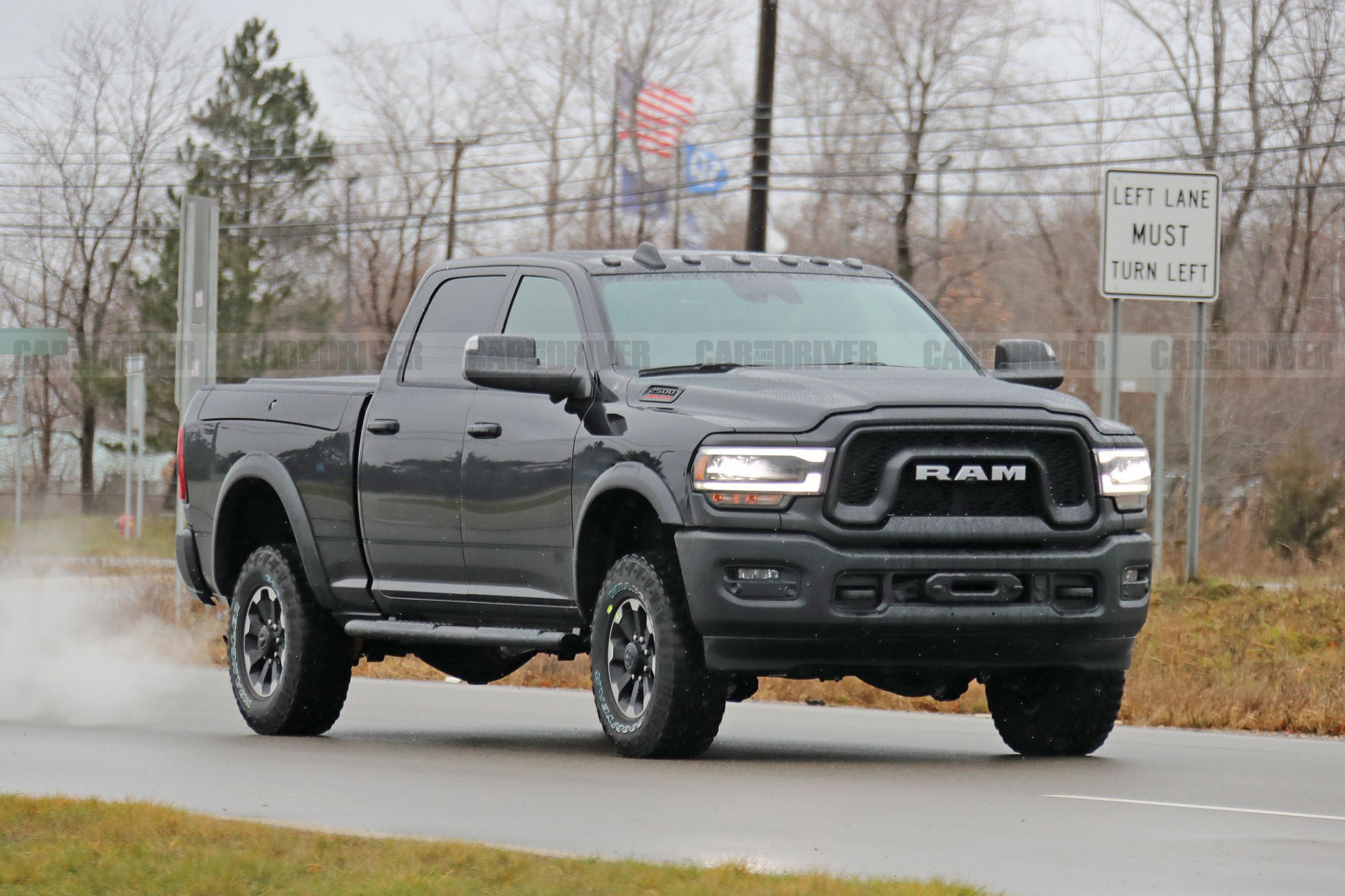 5 Ram Power Wagon 5 Pickup Spied in Its Birthday Suit   2020 Dodge Wagon