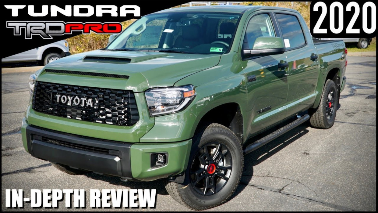 5 Toyota Tundra TRD Pro /ARMY GREEN/ Off-Road Ready!