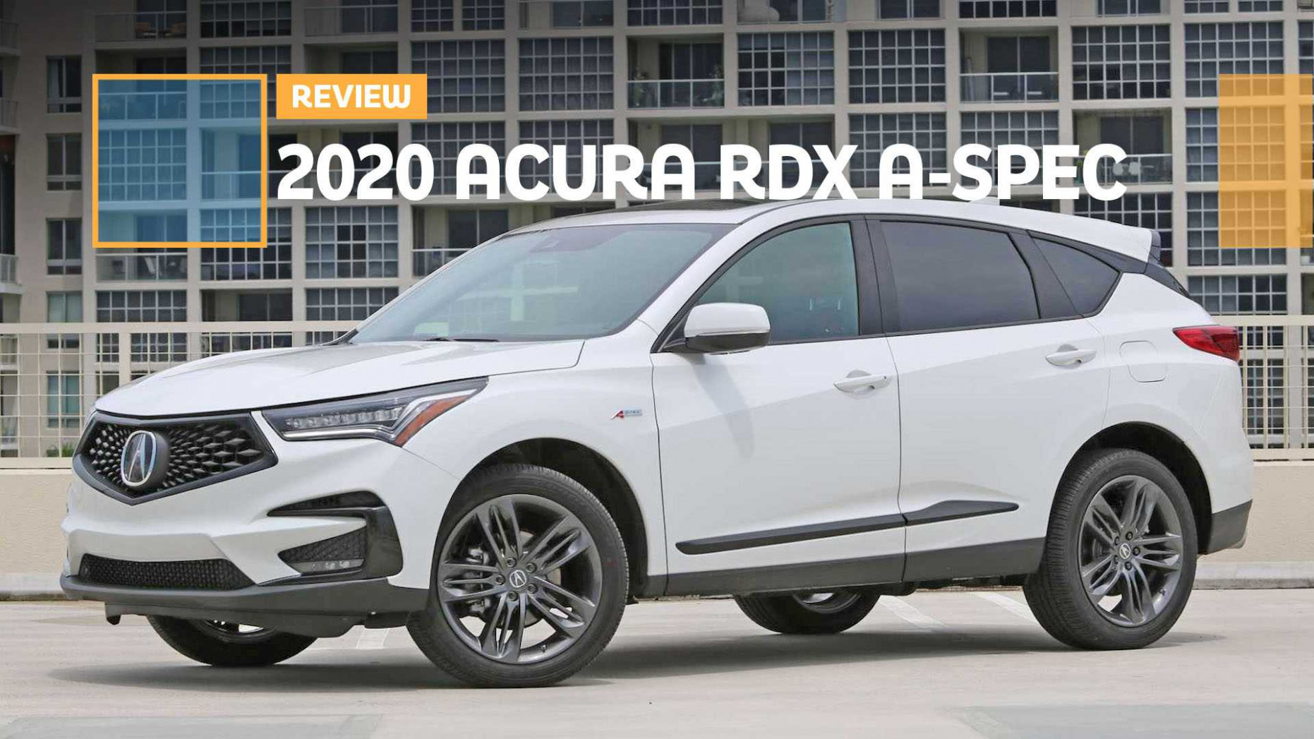 6 Acura RDX A-Spec Review: The A-Spec Team | 2020 Acura Hatchback