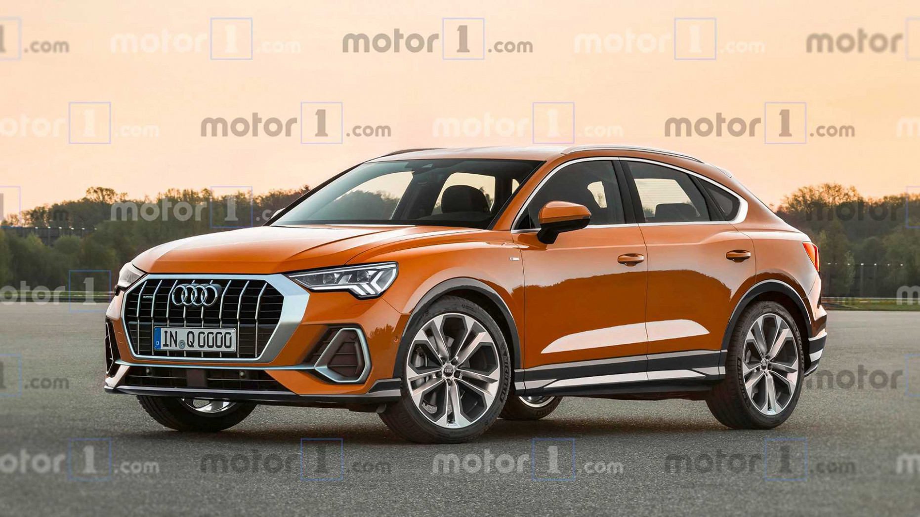 6 Audi Q6 Sportback Officially Confirmed For July Reveal   2020 Audi X3