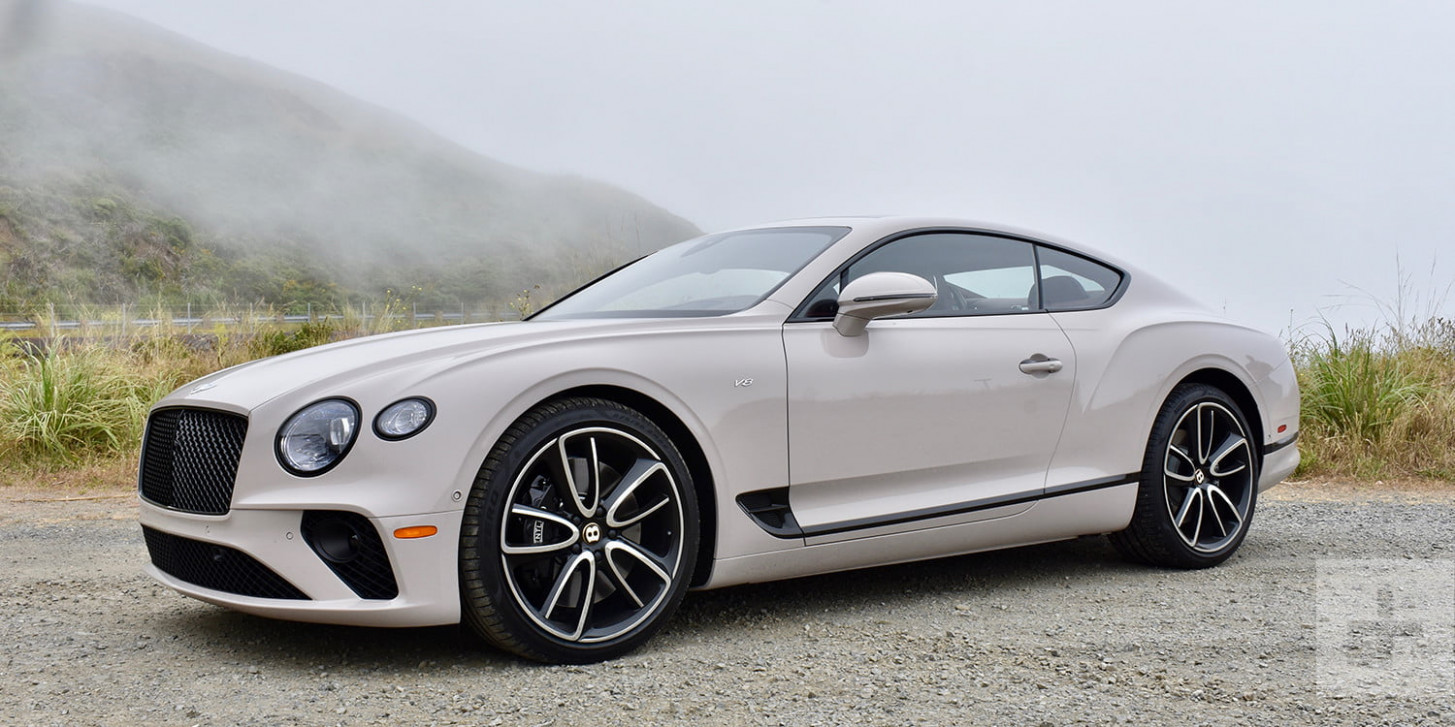 6 Bentley Continental GT V6 Coupe First Drive Review | Digital ..