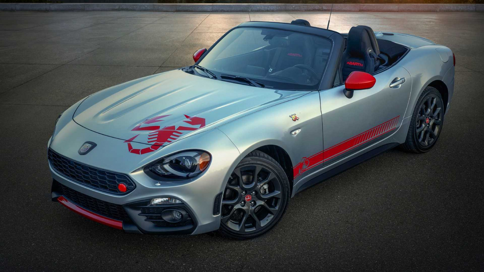 6 Fiat 6 Abarth Adds 'Scorpion Sting' Graphics Package