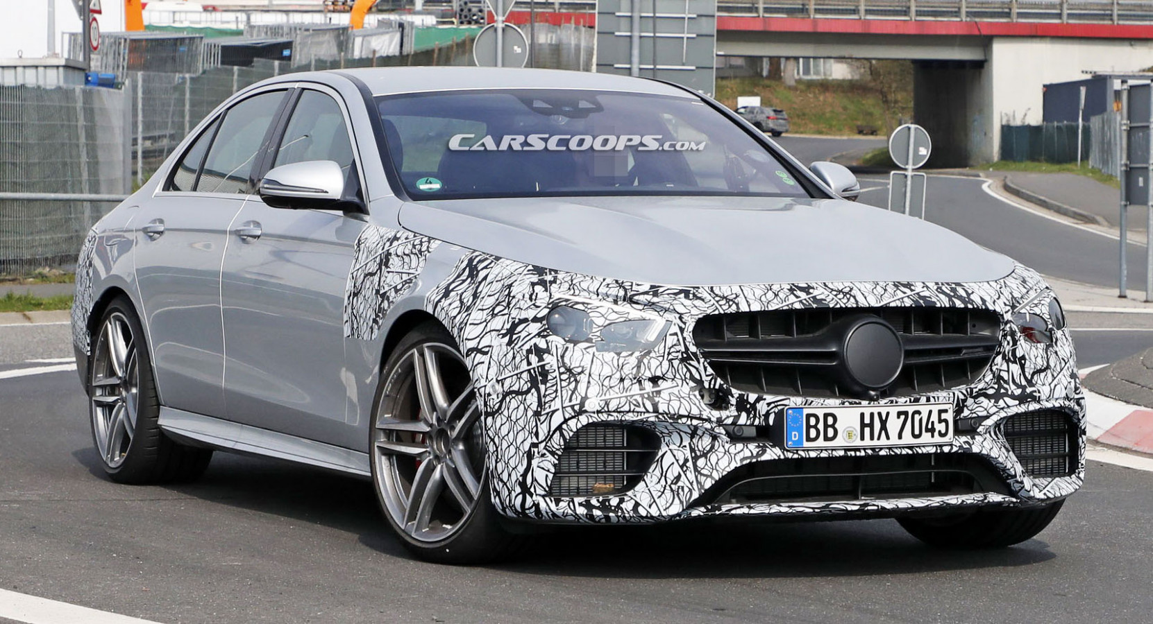 6 Mercedes-AMG E6 Facelift Spied, Still No Panamericana Grille ...