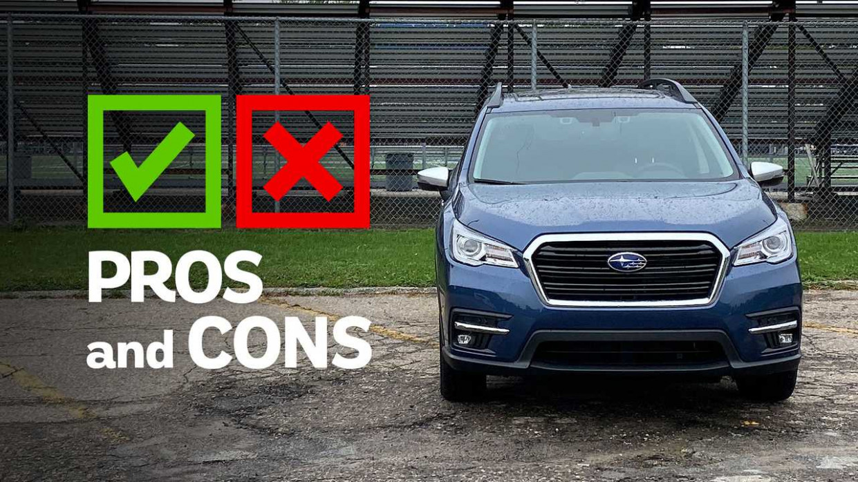 6 Subaru Ascent Touring: Pros And Cons