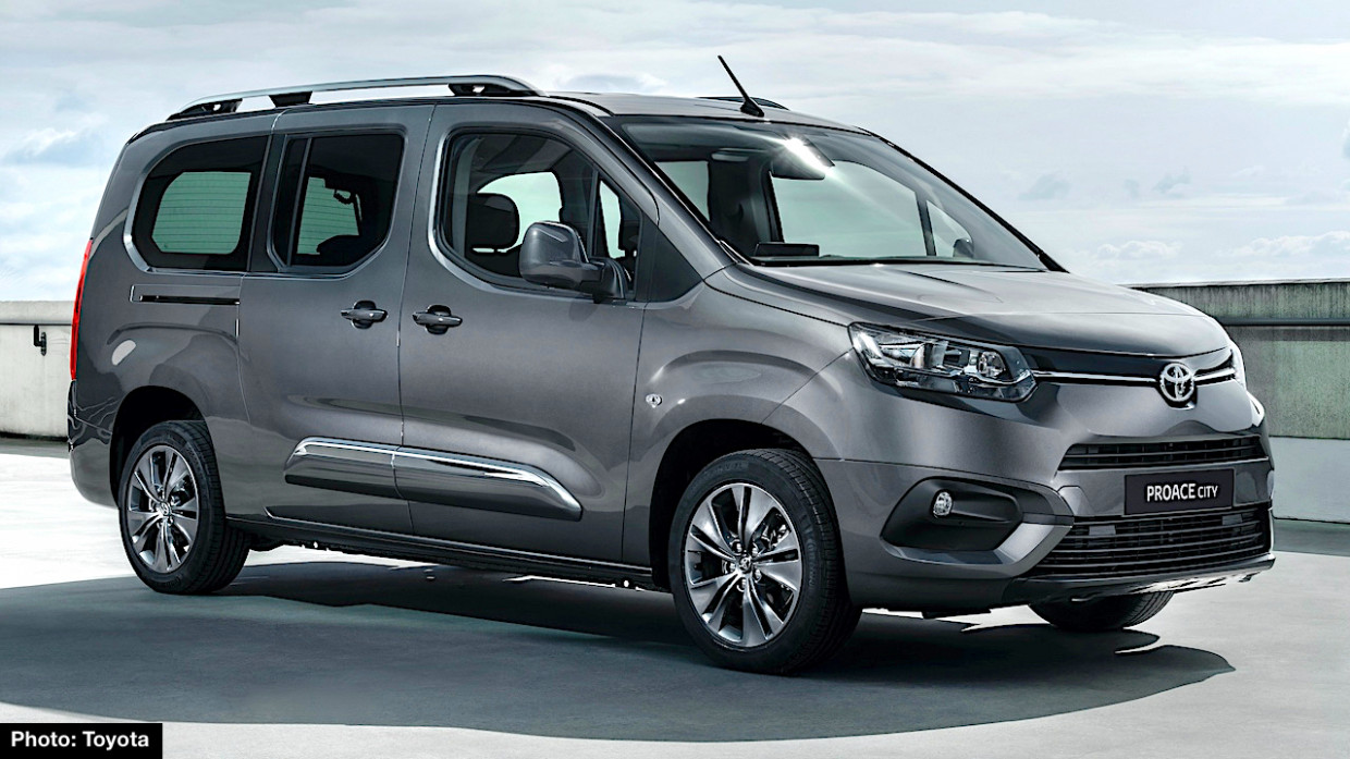 6 Toyota Proace City and Verso Preview – New Compact Vans ..