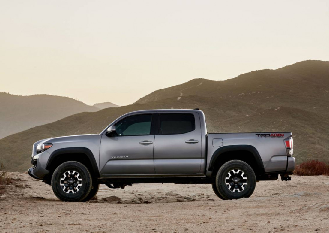 6 Toyota Tacoma gets tech upgrade plus Army Green TRD Pro ..