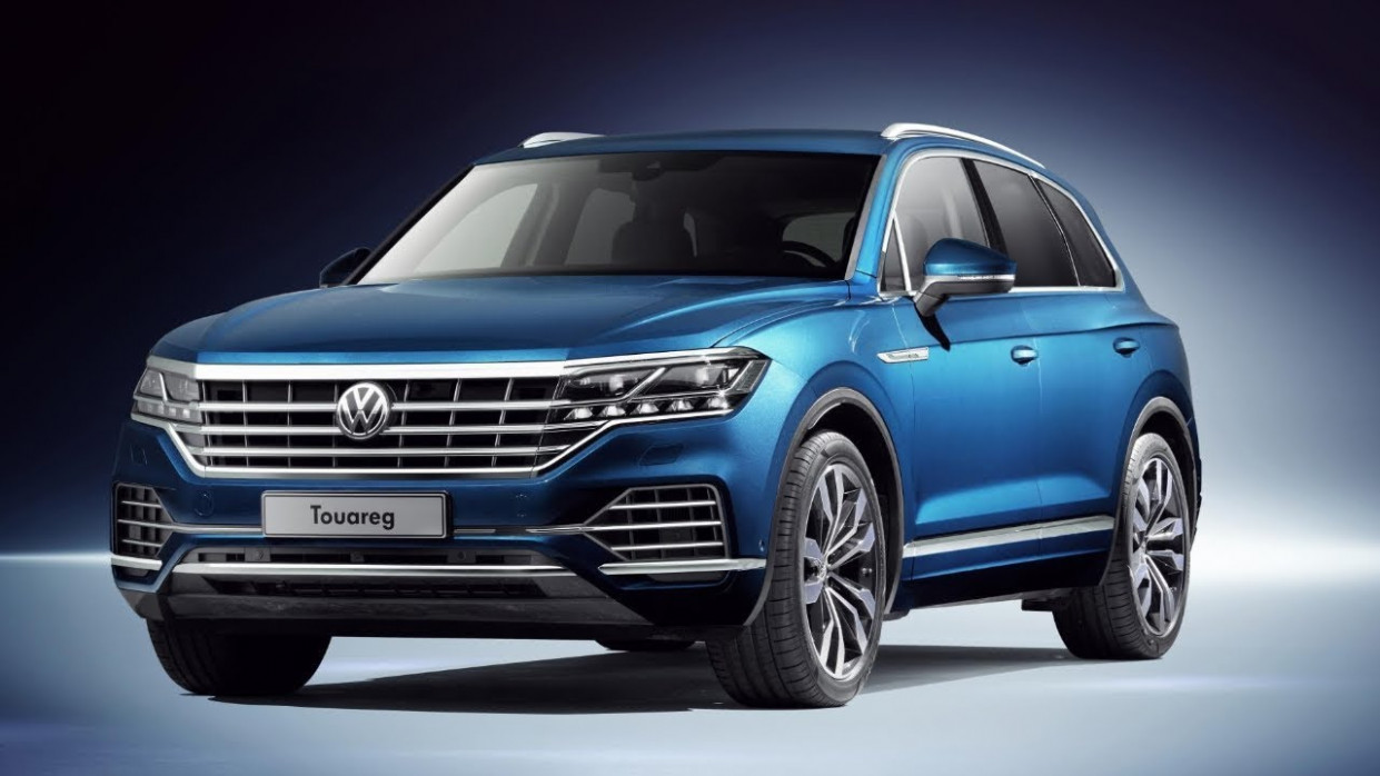 6 Volkswagen Touareg Introducing