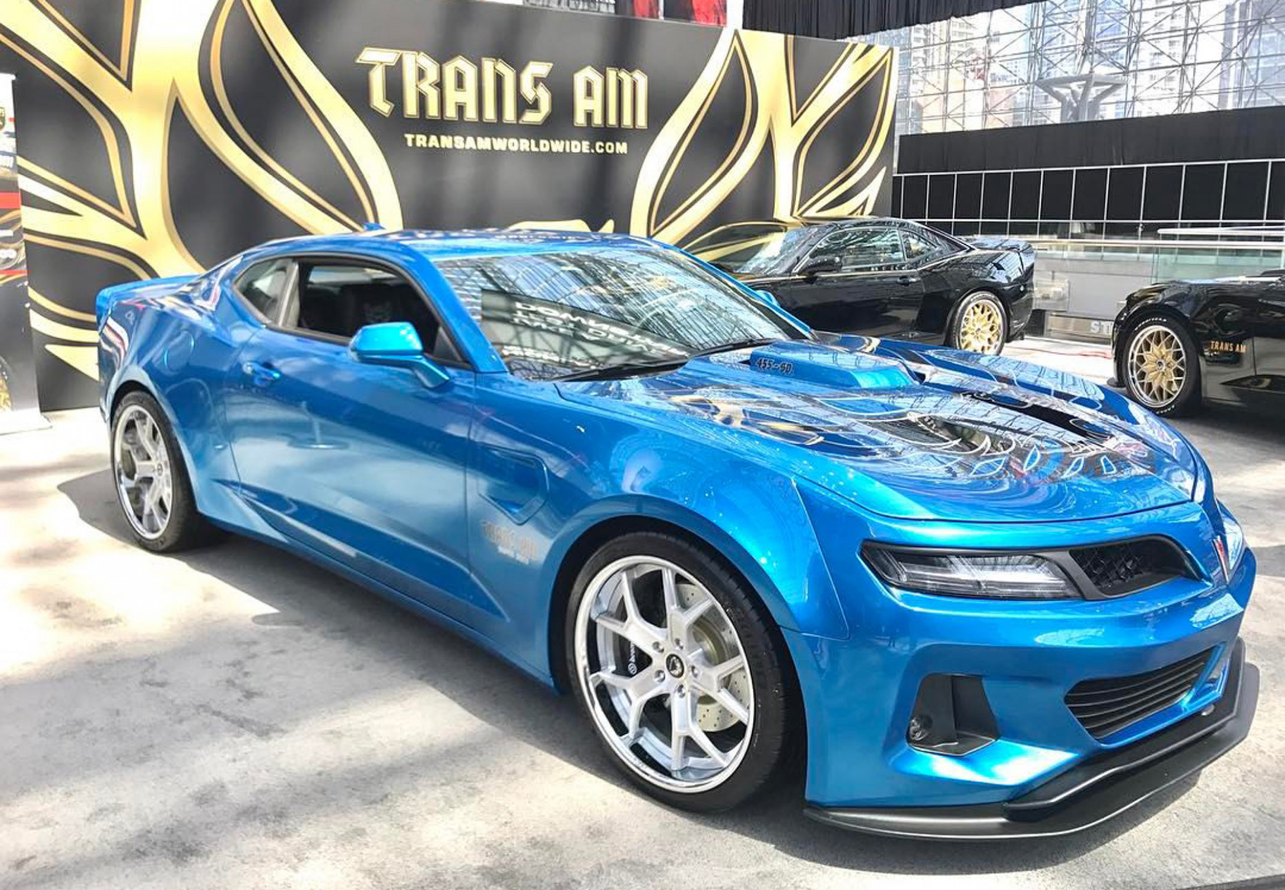 6th-gen Camaro Trans Am conversion comes packing 6,6 horsepower | 2020 Dodge Trans Am
