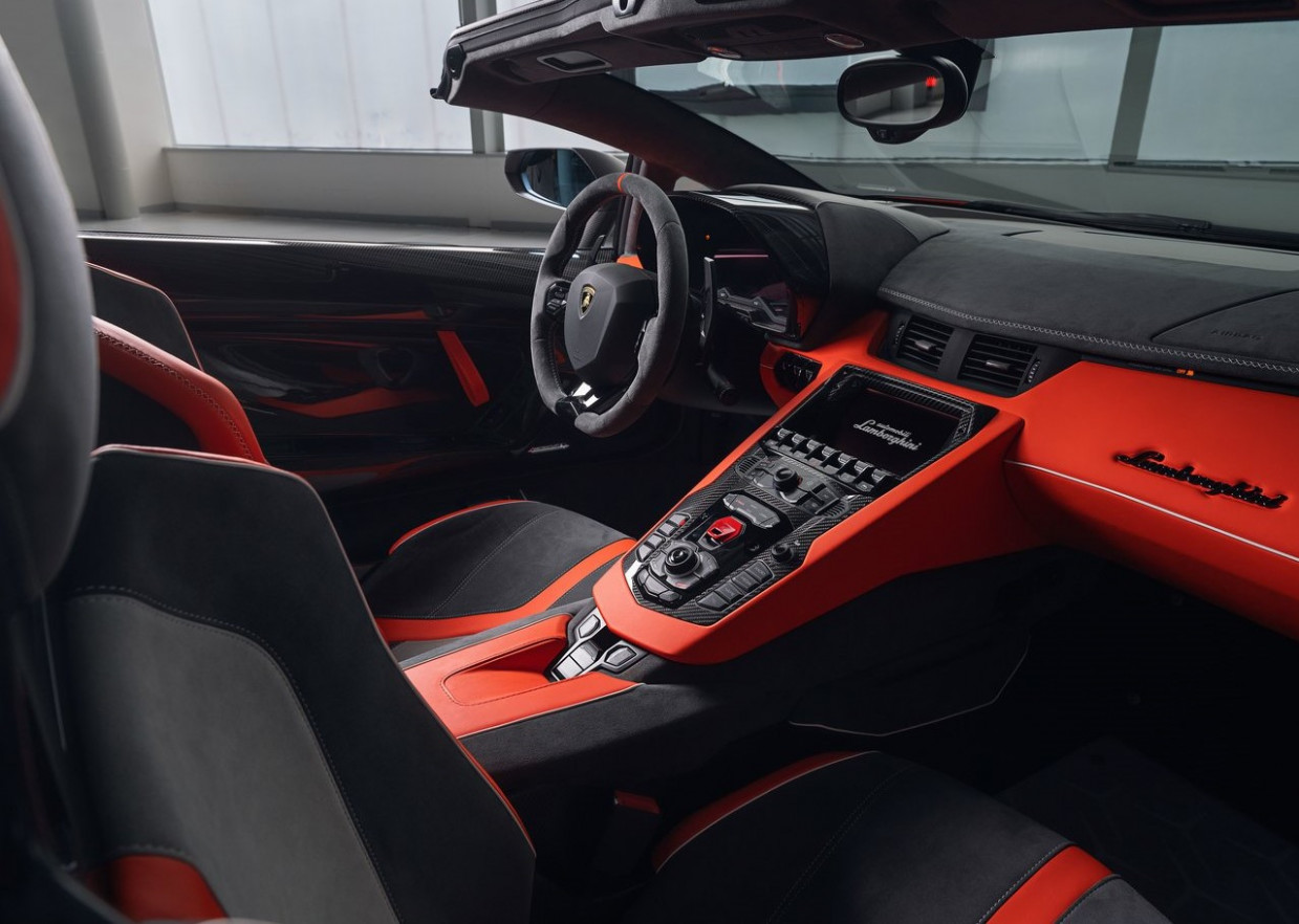 An overview of the limited edition 6 Lamborghini Aventador SVJ ..