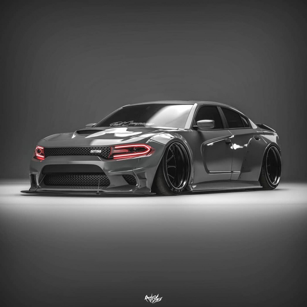 """Dodge Charger """"Stealth Bomber"""" Is All Muscle - autoevolution   2020 Dodge Stealth"""