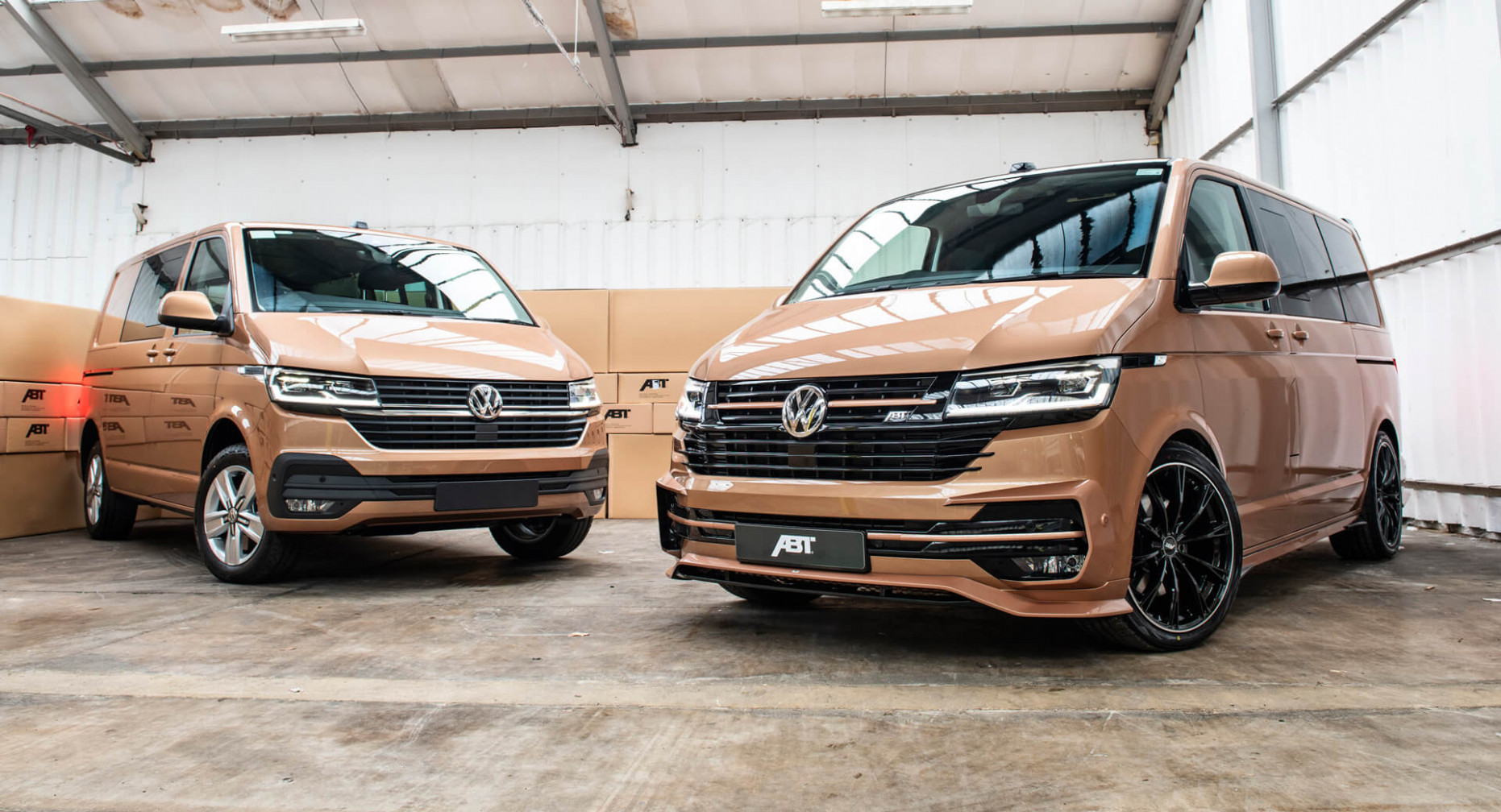 Does 6 VW Transporter Need An Aero Kit And A Power Boost? ABT ..