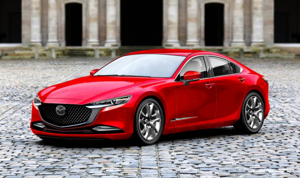Next-gen 6 Mazda 6 rendered and it looks ace - ForceGT