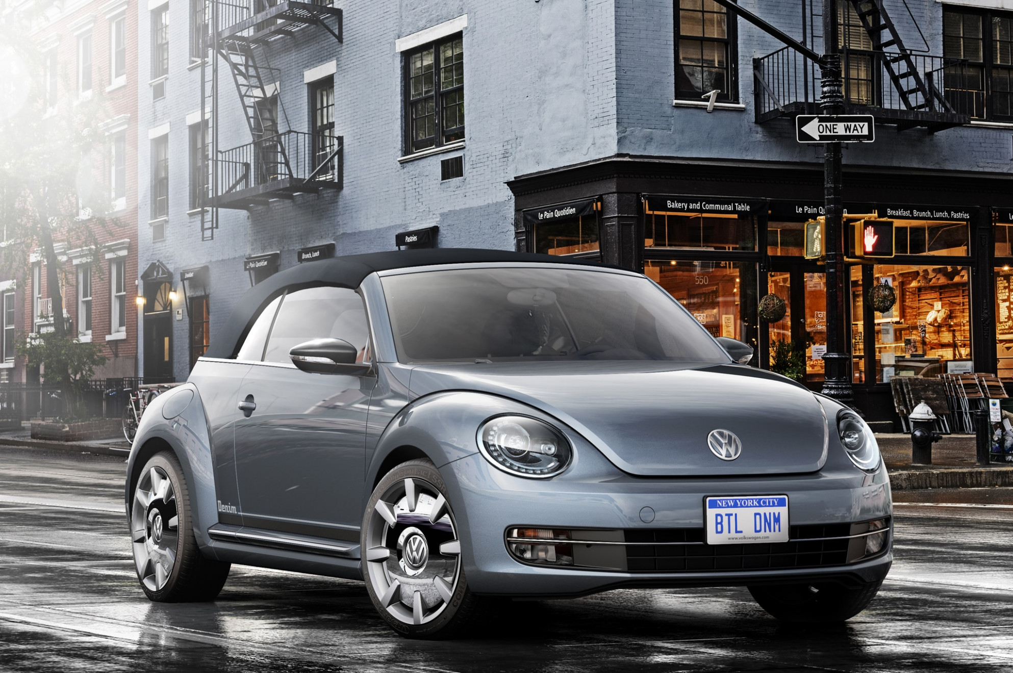 Production Volkswagen Beetle Dune, Beetle Denim Coming to Los Angeles | 2020 Volkswagen Beetle Denim