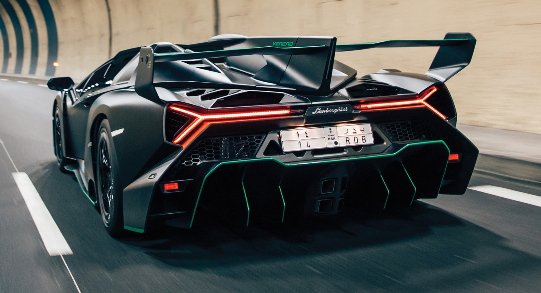 Stunning Lamborghini Veneno Roadster In Satin Black Could Sell For ..