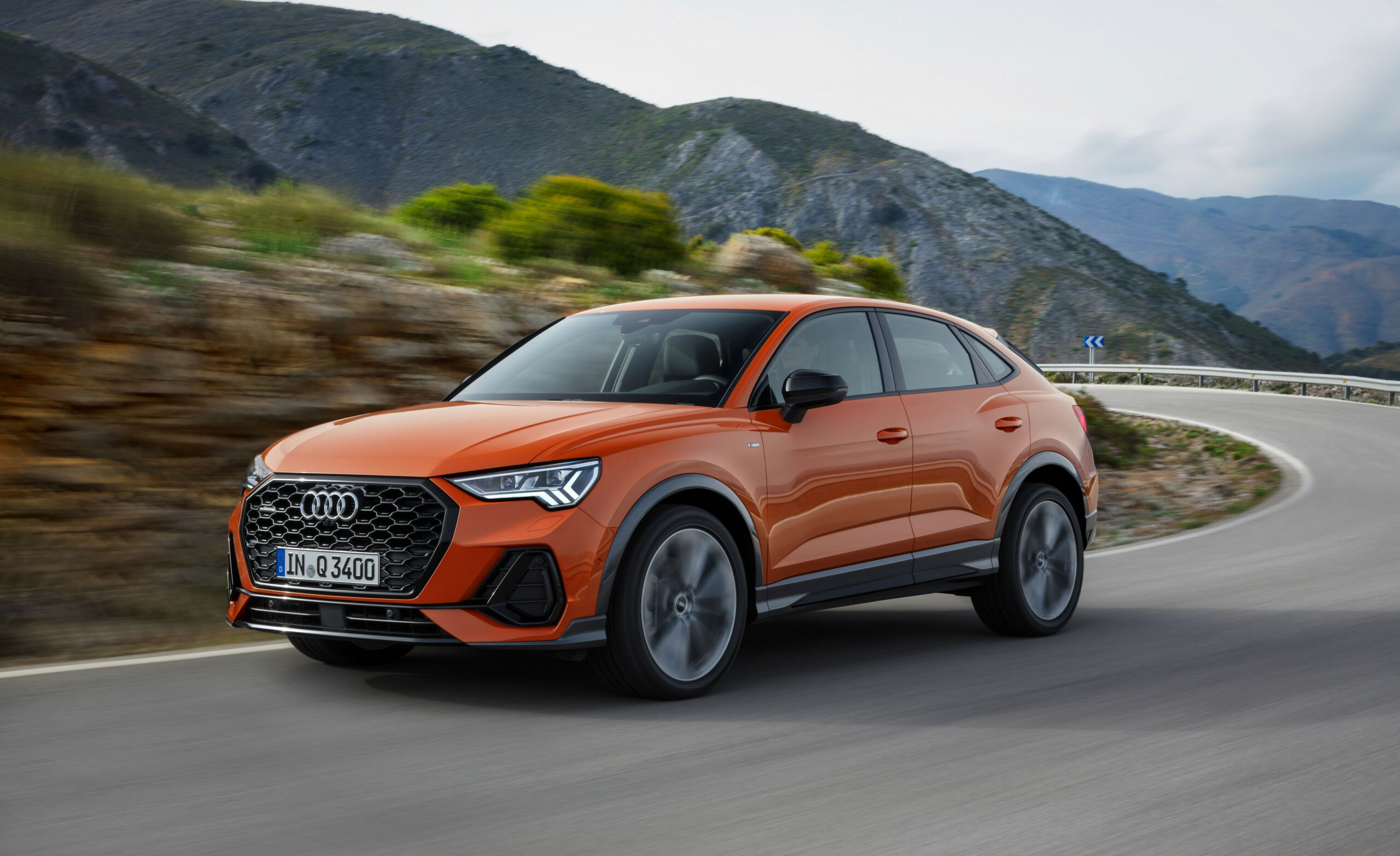 The 6 Audi Q6 Sportback Offers More Style with Less Space   2020 Audi X3