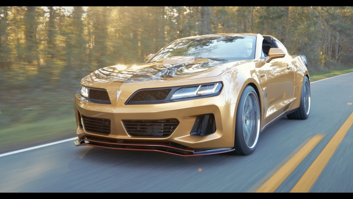 Trans Am Depot's Gold Pontiac Super Duty: Video | GM Authority