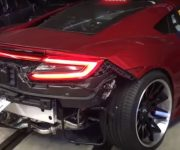 2020 Acura Nsx Exhaust