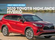 2020 Toyota Highlander Gas Mileage