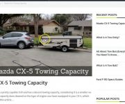 2020 Mazda Cx 5 Towing Capacity
